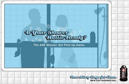 Axe Shower Game