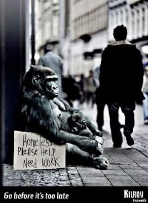 Gorilla Unemployed