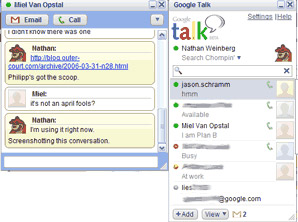 New GoogleTalk