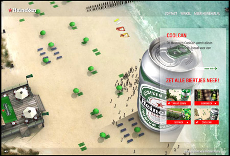 Heineken, Summer is coming.