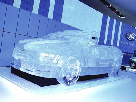 Ford Focus in Ice 1