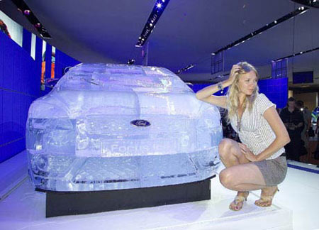 Ford Focus in Ice 2
