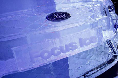 Ford Focus in Ice 3